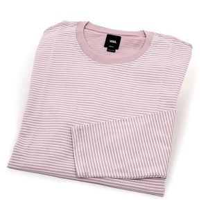Vans Engineered Striped Long Sleeve in Violet Ice